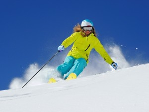 skiinggirl